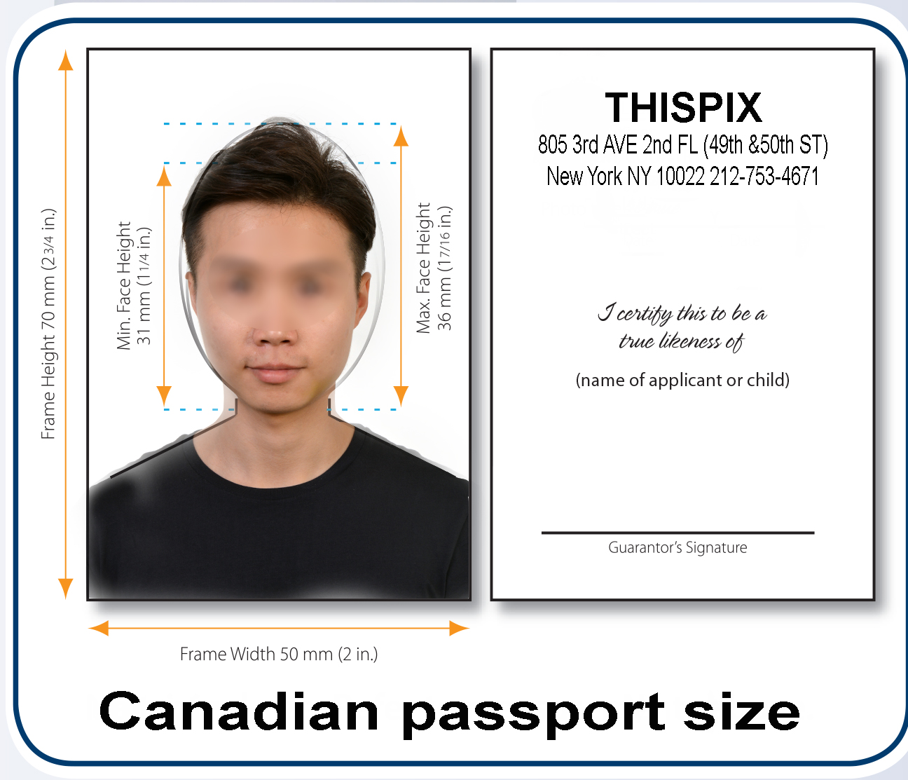 Live Scan Fingerprinting - Passport/Visa/Citizenship/ID Irish passport size photo dimensions