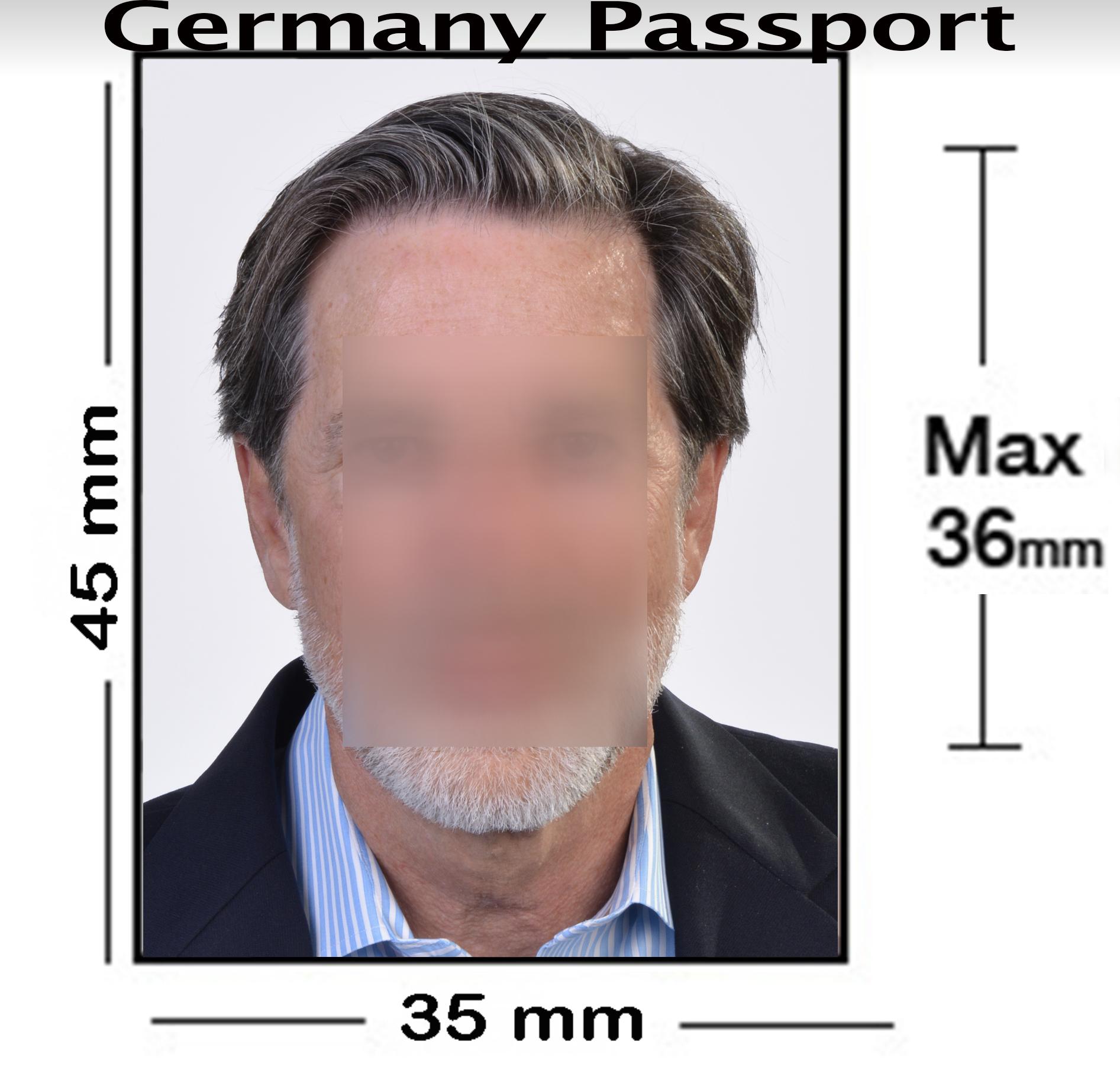 Germany Passport Photo NYC