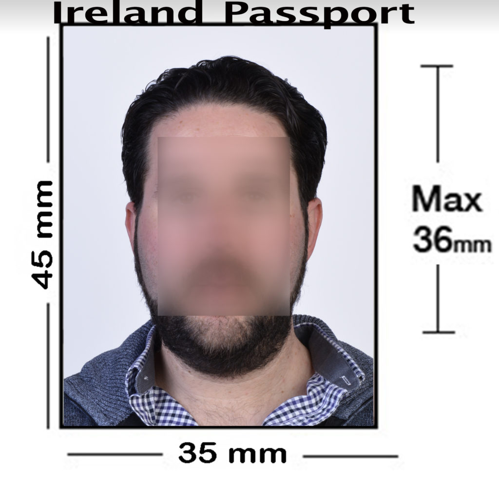 Ireland Passport Photo NYC