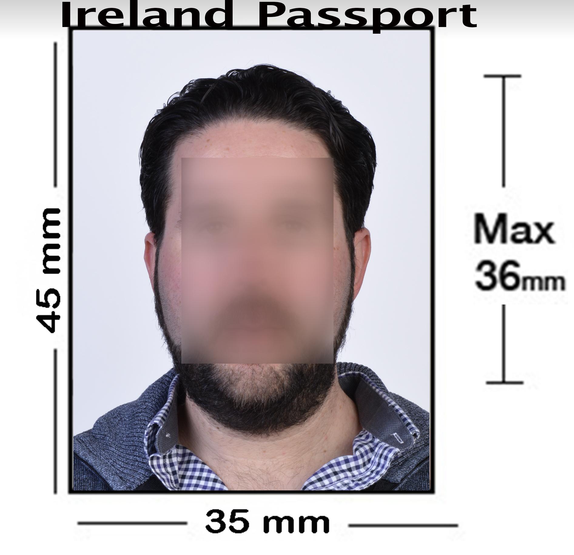 Ireland Passport Photo NYC