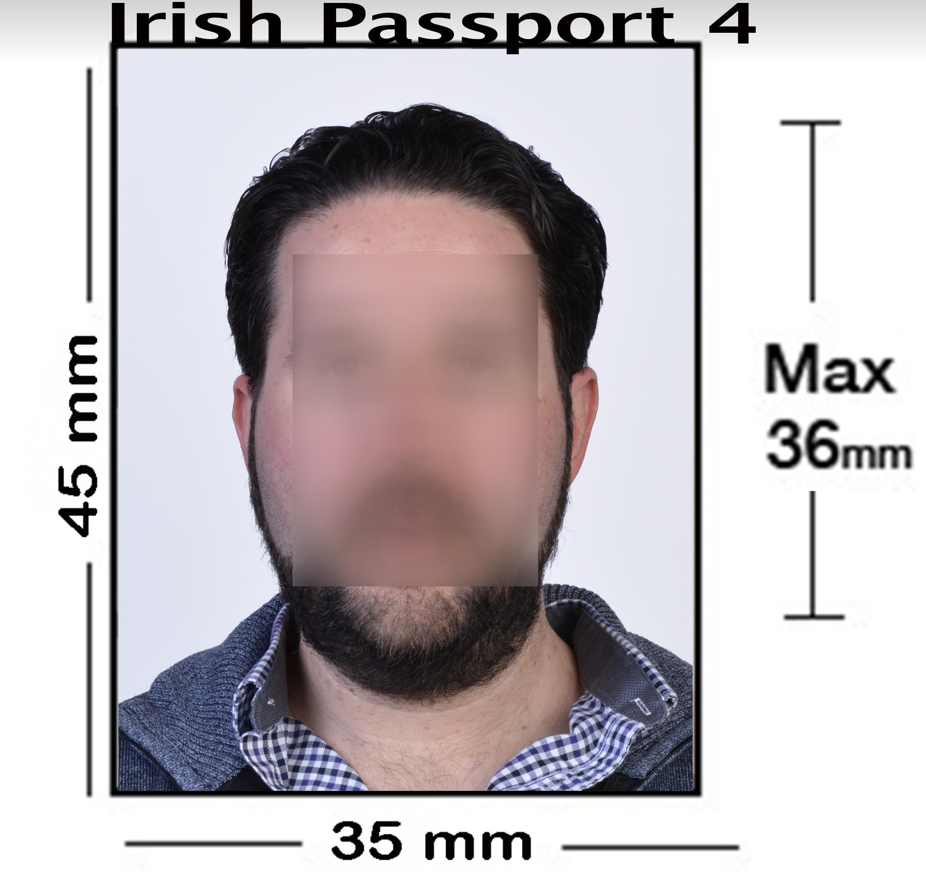 Irish Passport Photo NYC