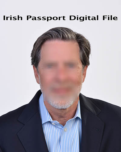 Irish Passport Photo - Digital File