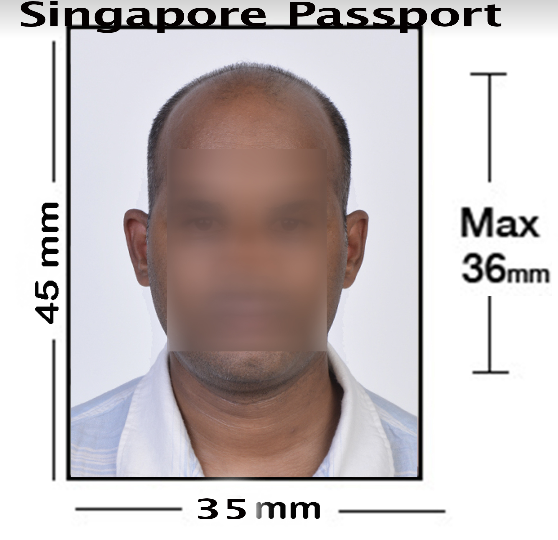 Singapore & Thai Passport Photo NYC